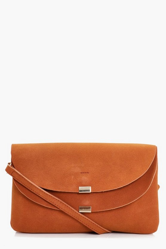 Lucy Double Flap Clutch