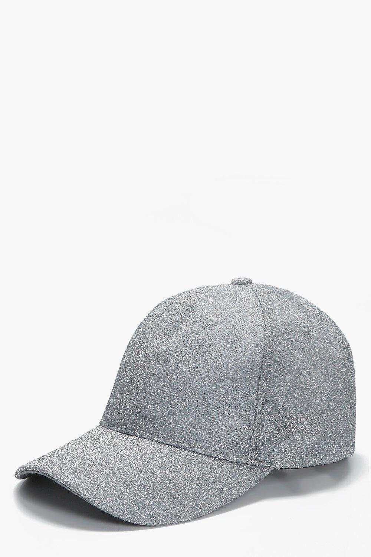 Lurex Baseball Cap - silver - Elizabeth Lurex Base
