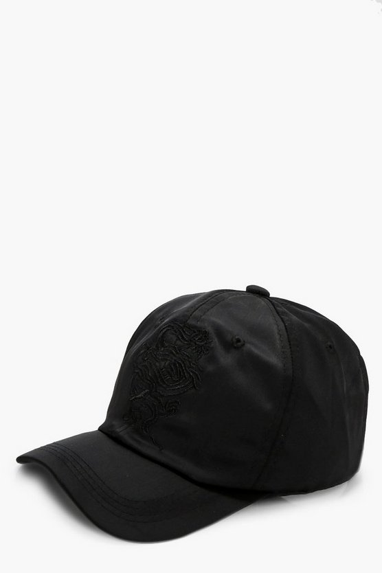 Lola Oriental Dragon Satin Cap