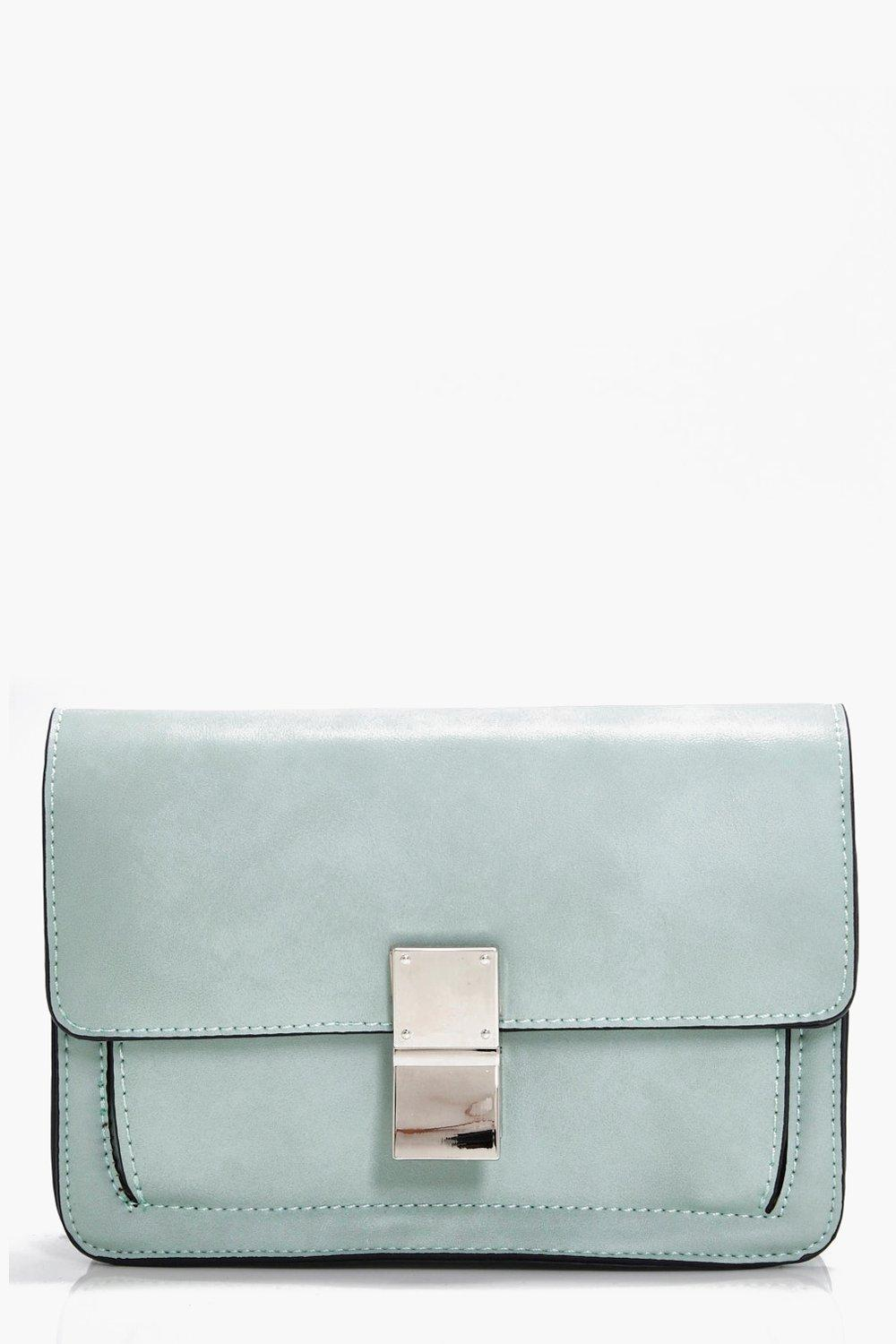 Guitar Strap Detail Cross Body Bag - blue - Daisy