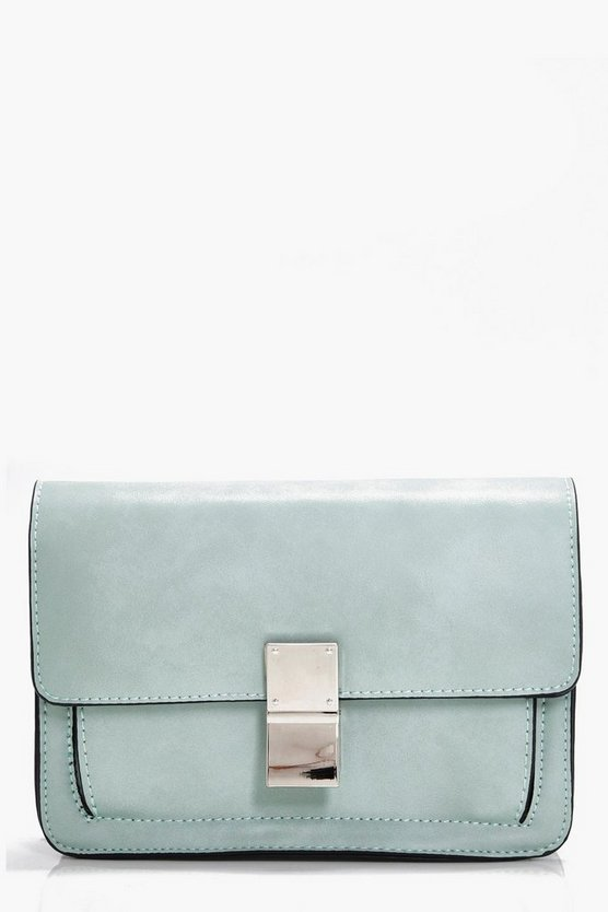 Daisy Guitar Strap Detail Cross Body Bag