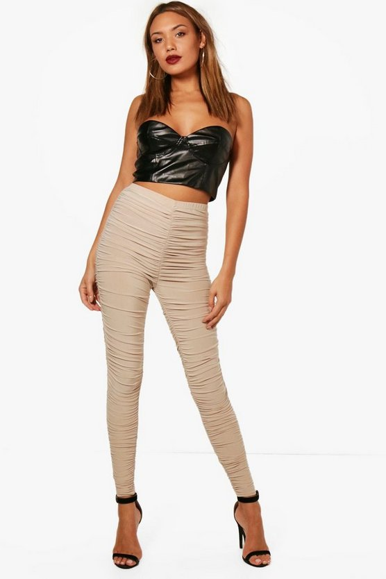 Naomi All Over Rouched Soft Touch Leggings