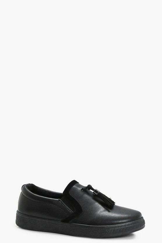 Kelly Tassel Trim Skater