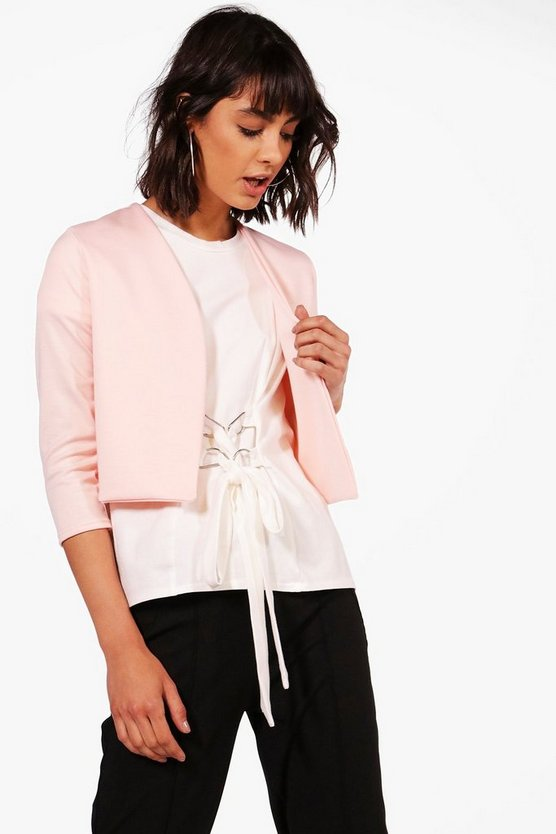 Sarah Crop Edge To Edge Jacket