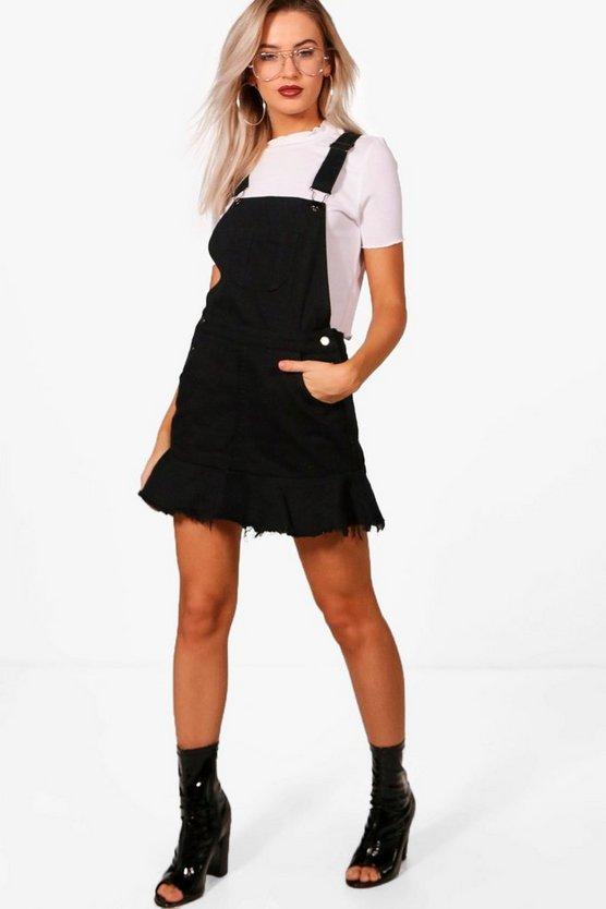 Rosie Denim Pinafore Dress