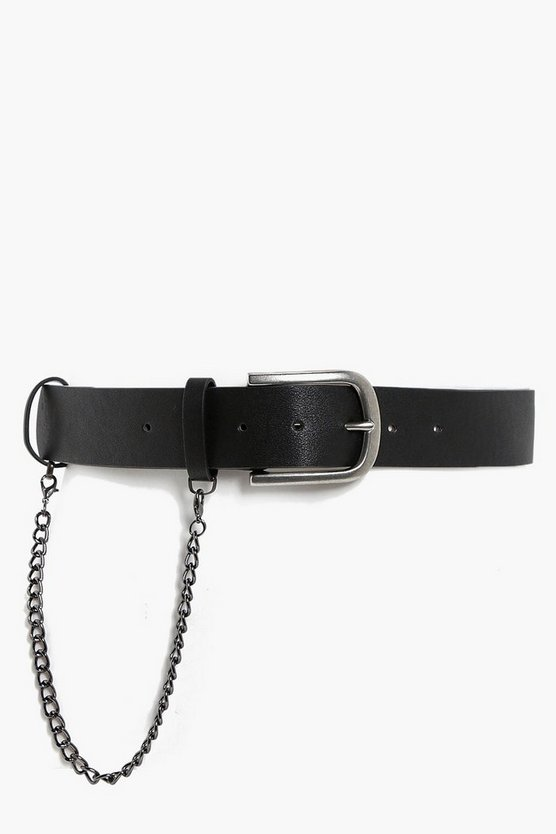Sophie Chain Detail Boyfriend Belt