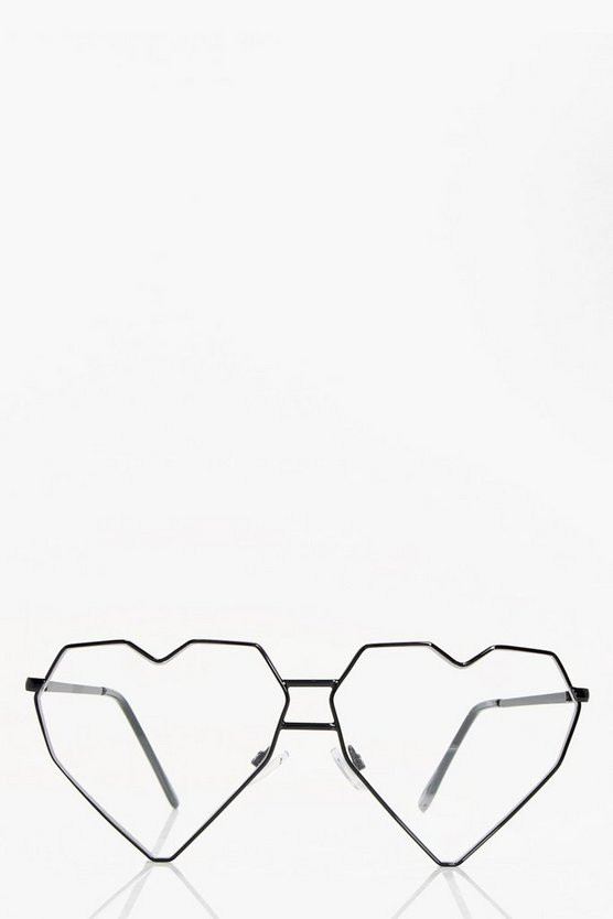 Faye Heart Metal Prone Sunglasses