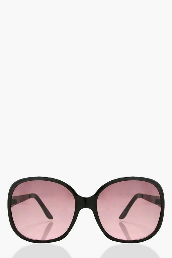 Alicia Flat Square Frame Sunglasses