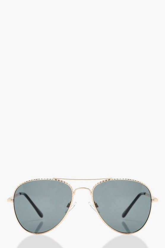 Anya Twist Coloured Lens Sunglasses