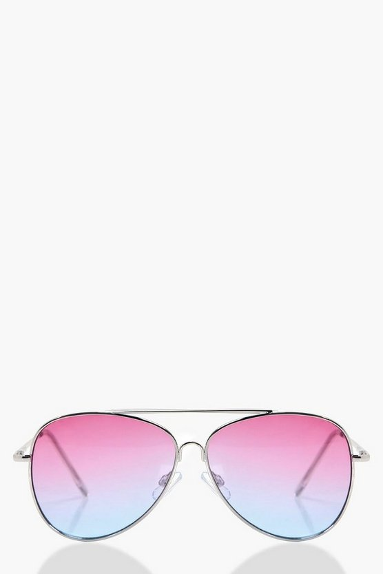 Orla Ombre Aviator Sunglasses