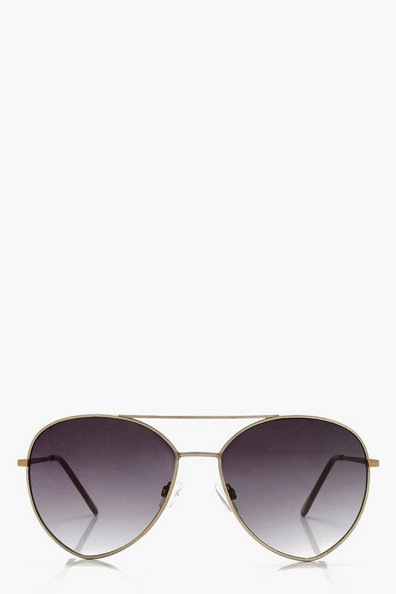 Layla Oversized Aviator Sunglasses