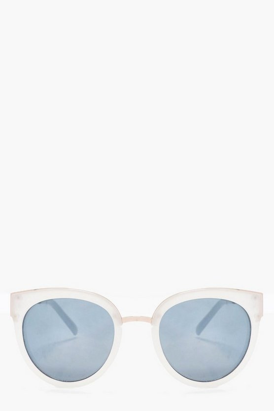 Lacey Plastic Oversize Sunglasses