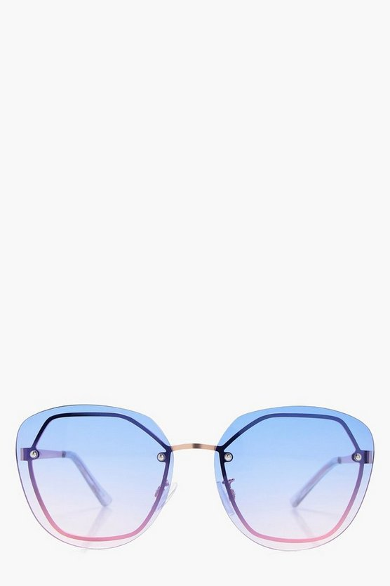 Ellie Frameless Ombre Sunglasses