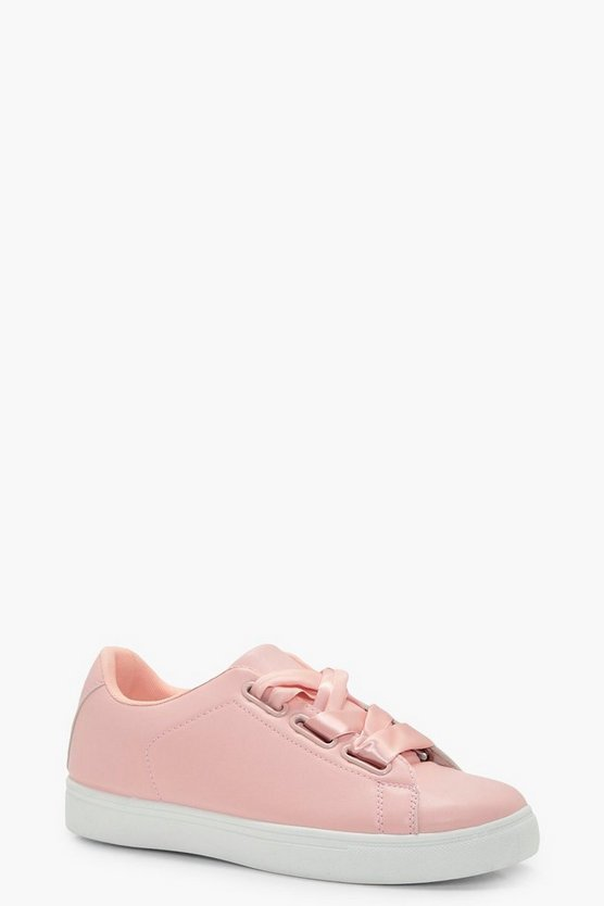 Emily Ribbon Lace Up Trainer