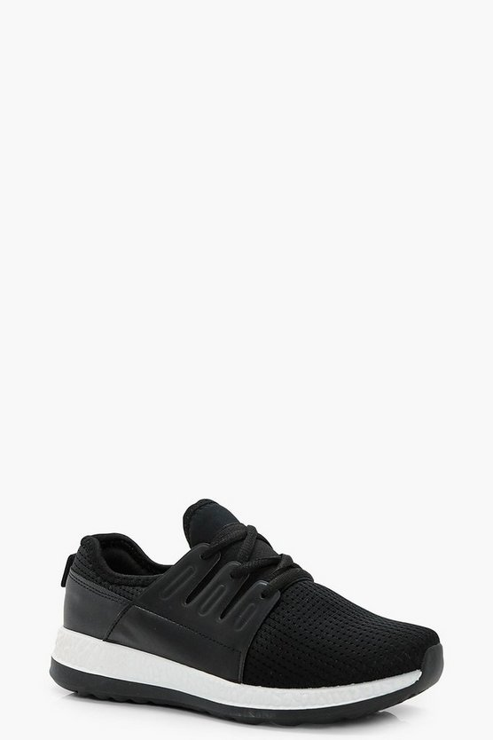 Esme Mesh Lace Up Sports Trainer