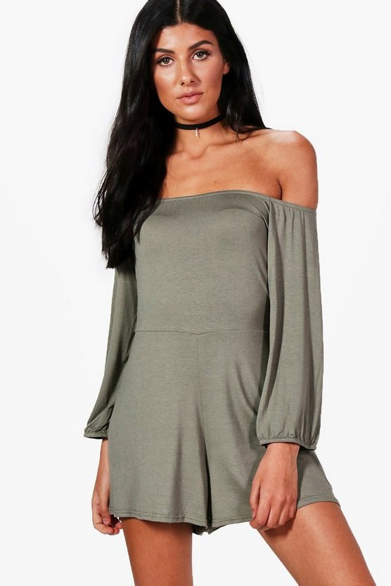 Jessica Off Shoulder Playsuit