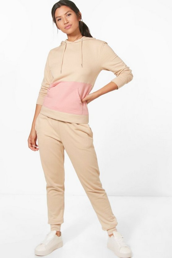 Kayla Fit Hooded Tracksuit