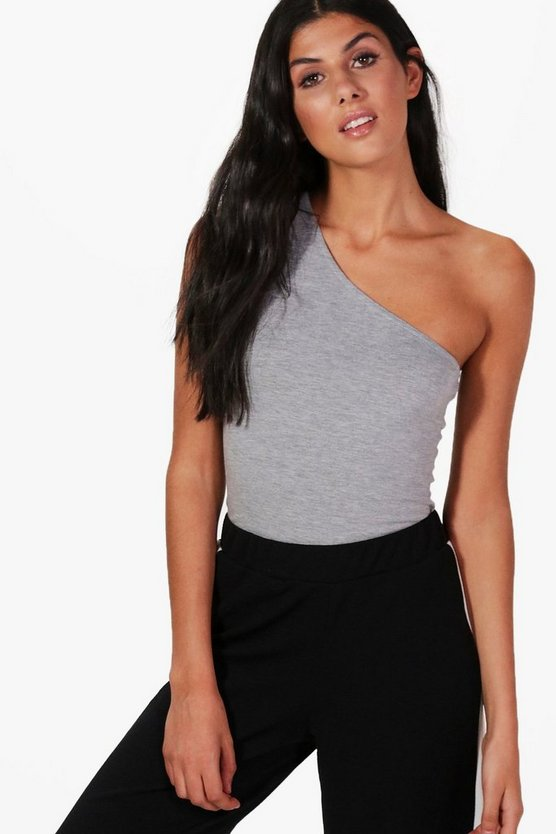 Bella Basic One Shoulder Vest
