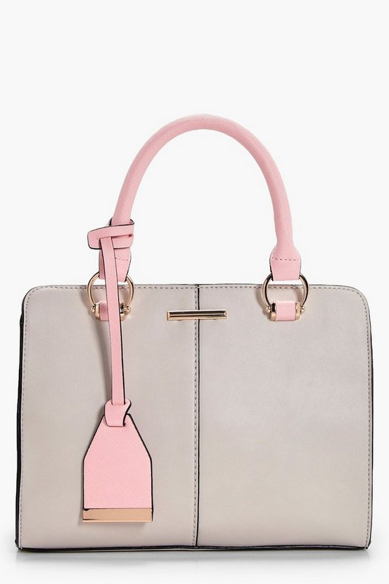 Sofia Structured Mini Tote Cross Body
