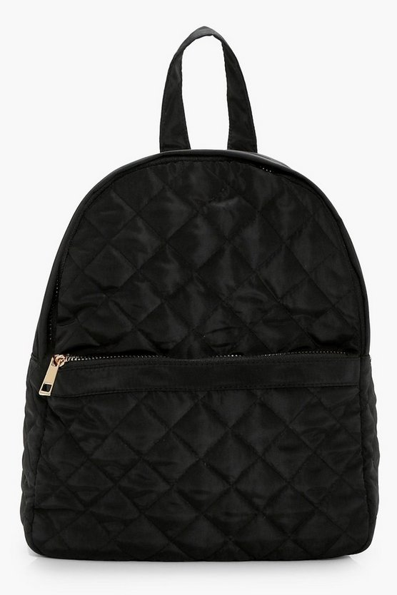 Sophie Nylon Quilted Rucksack