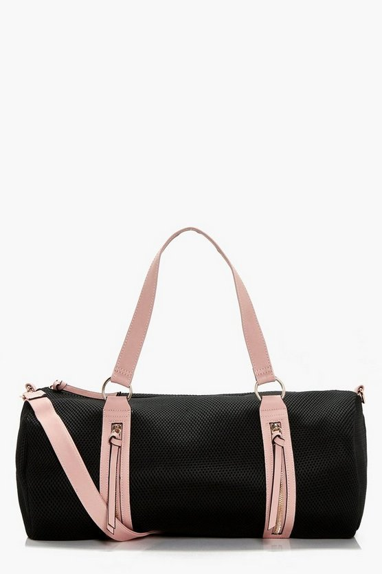 Emily Mesh & Contrast Bind Gym Holdall