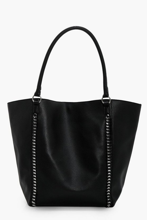 Melissa Chain Detail Shopper Bag