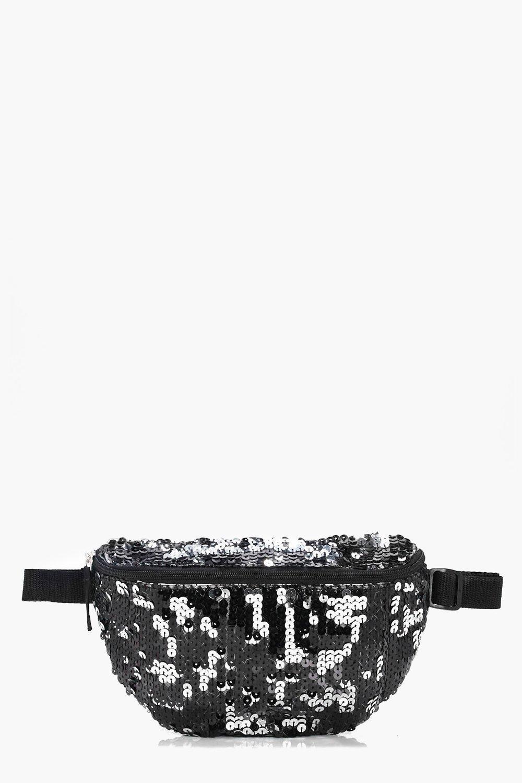 Sequin Bumbag - black - Kate Sequin Bumbag - black