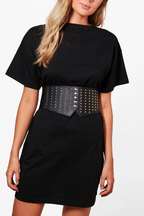 Amy Square Stud Waist Belt