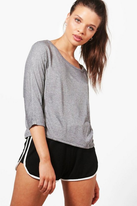 Amber Fit Athleisure Running Top