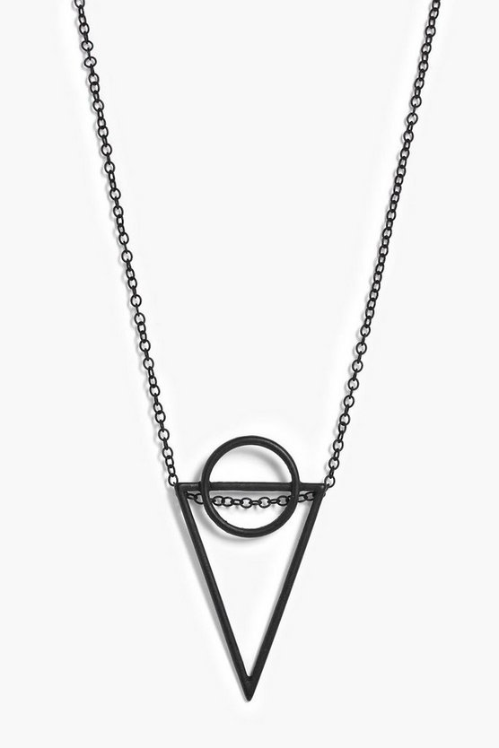 Laura Geo Pendant Necklace