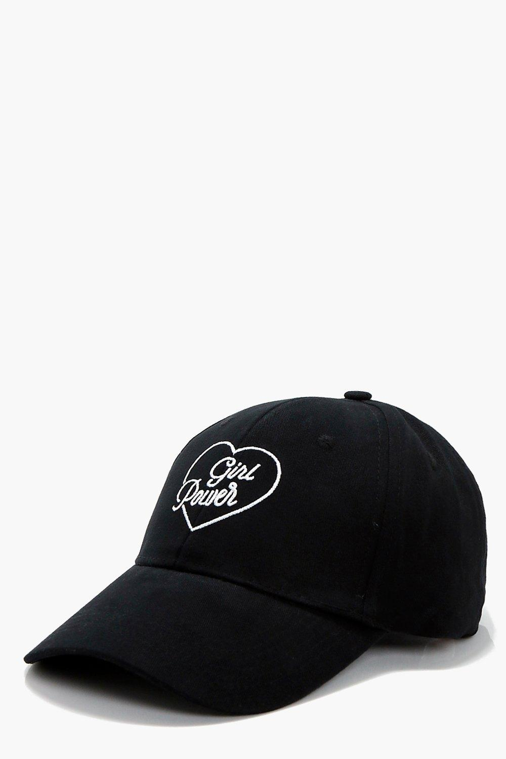 Girl Power Slogan Cap - black - Gemma Girl Power S