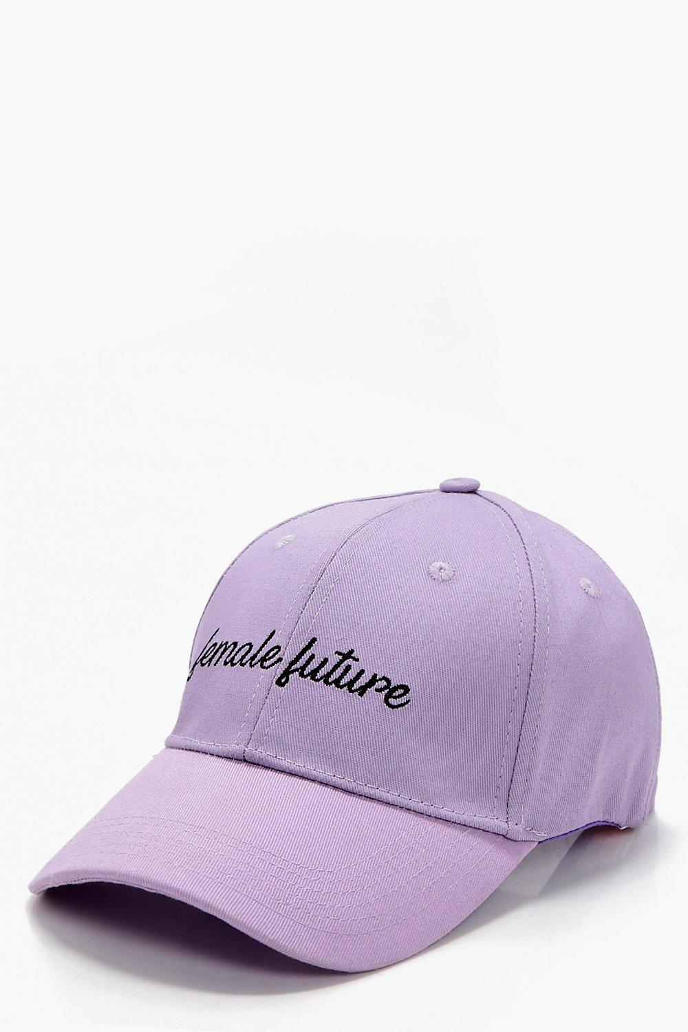 Female Future Slogan Cap - lilac - Millie Female F