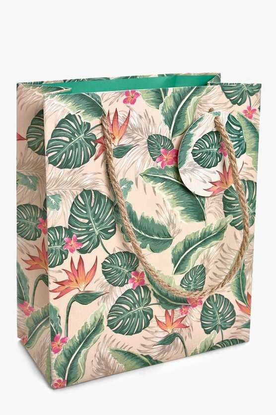 Medium Tropical Gift Bag