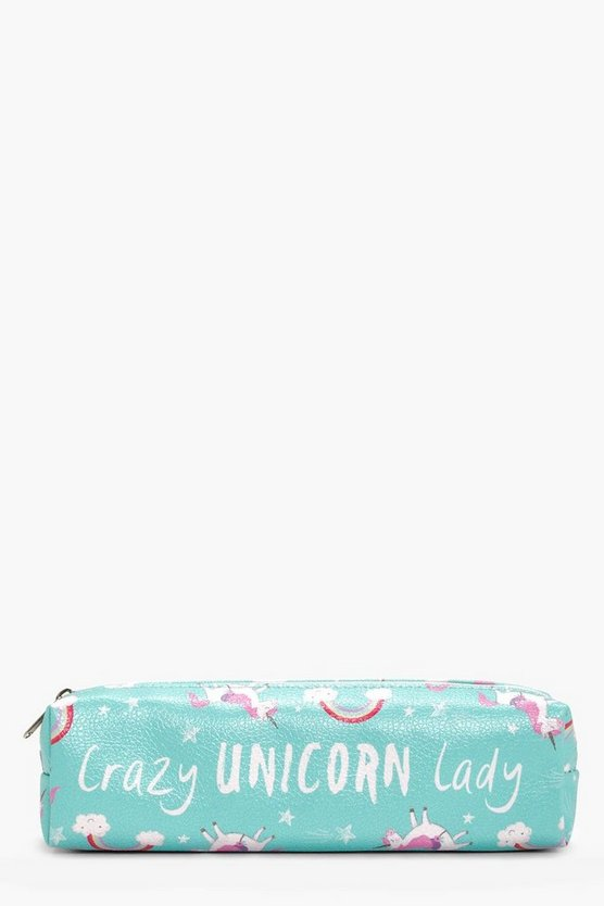 Unicorn Lady Pencil Case