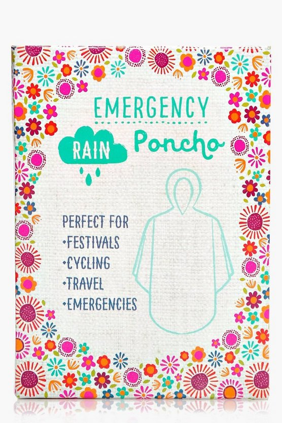 Emergency Festival Poncho