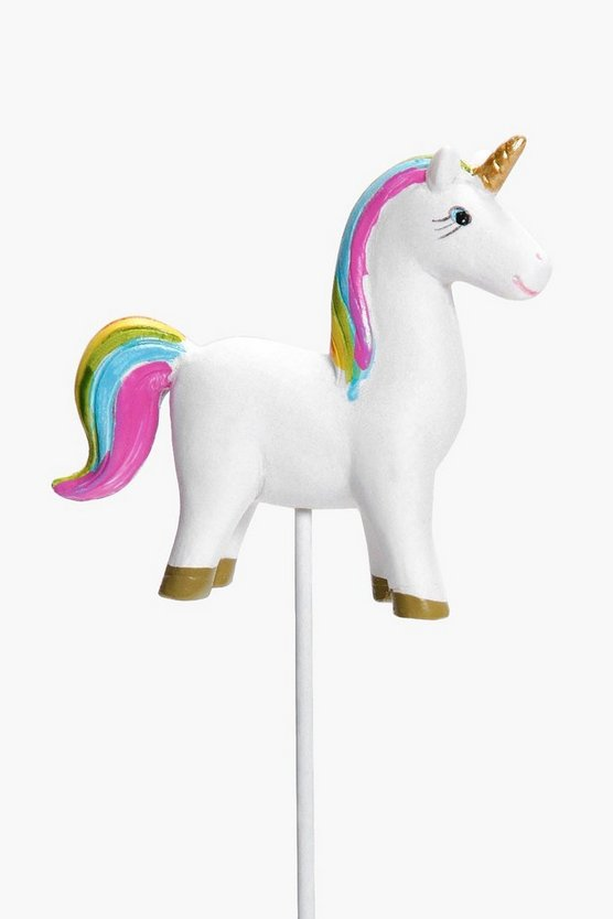 Rainbow Unicorn With Stick