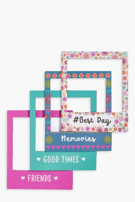 4 Set Fiesta Magentic Picture Frames