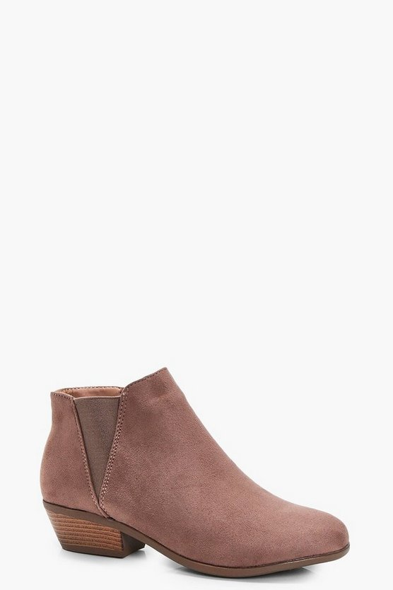 Ivy Western Chelsea Ankle Boots