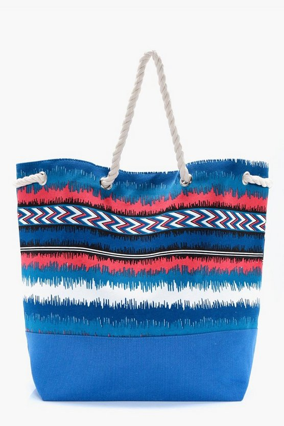 Sarah Aztec Duffle Beach Bag