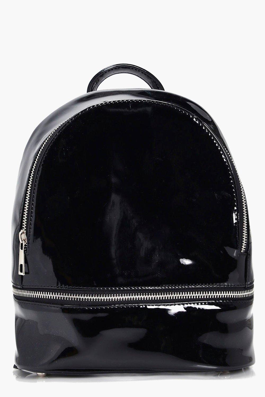 Patent Mini Rucksack - black - Jess Patent Mini Ru