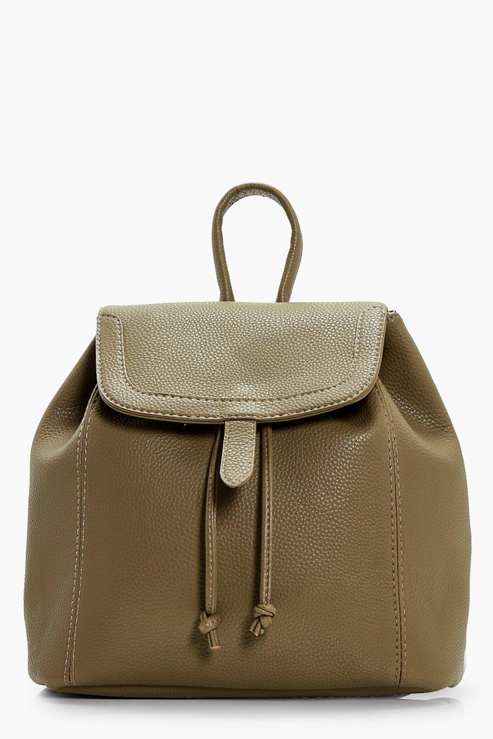 Entry Painted Edge Rucksack - khaki - Kerry Entry