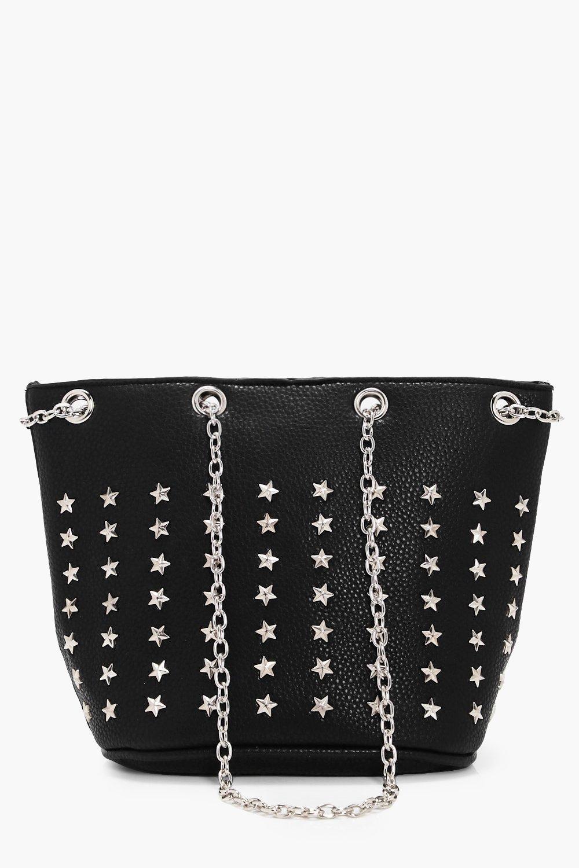 Star Stud Duffle bag - black - Kerry Star Stud Duf