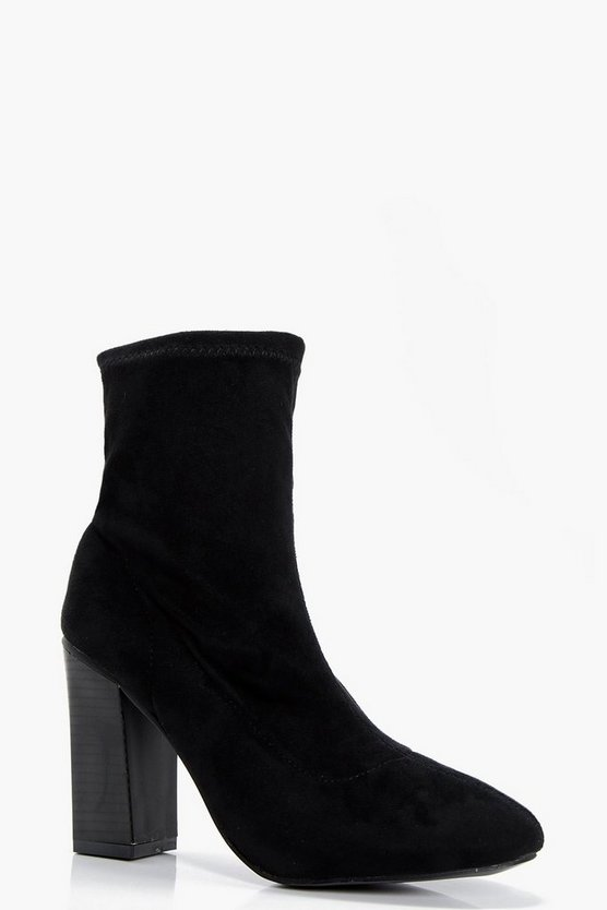 Meg Stretch Sock Boot