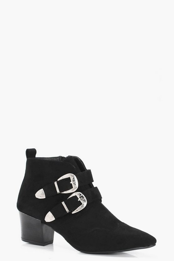 Lisa Pointed Toe Western Boot