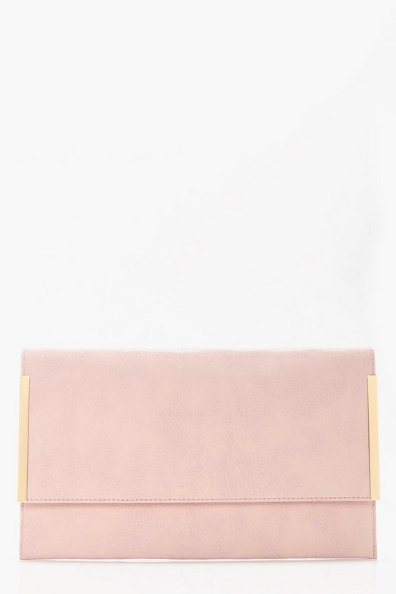 Maddison Metal Detail Clutch Bag