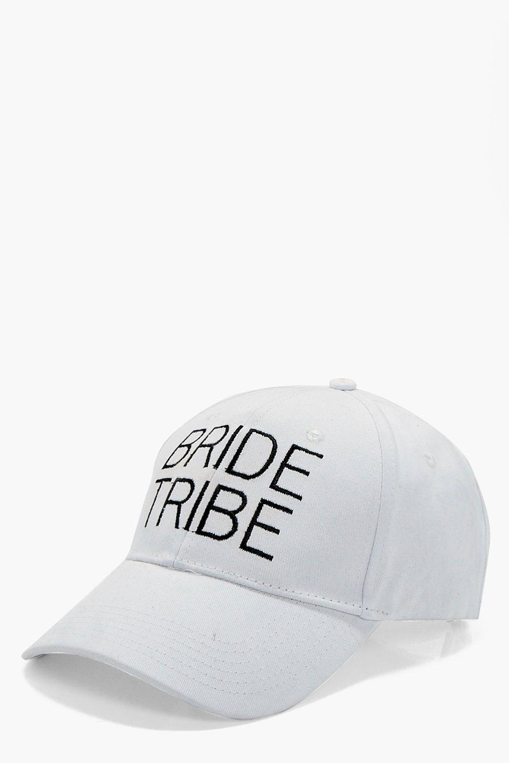 Bride Tribe Slogan Hat - white - Olivia Bride Trib