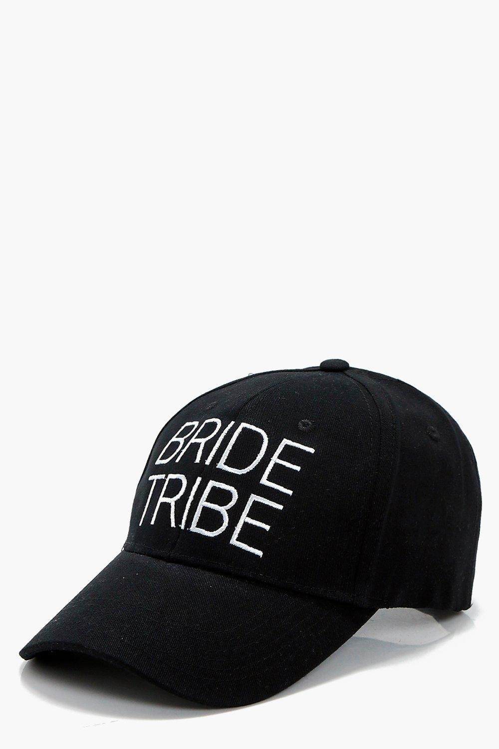 Bride Tribe Slogan Hat - black - Lacey Bride Tribe