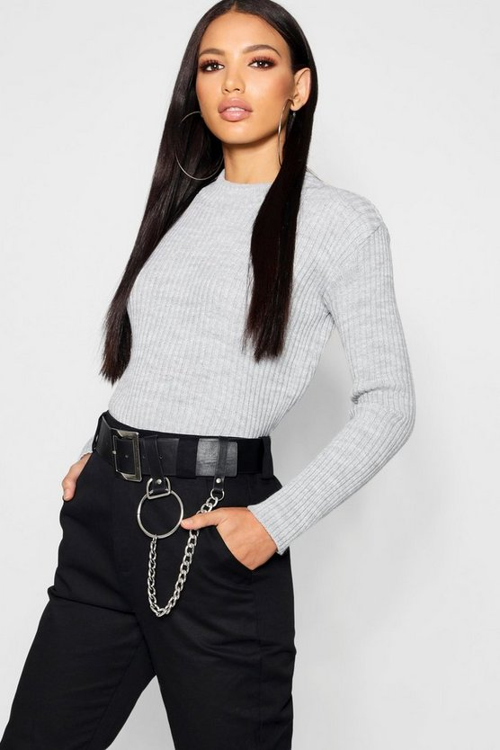Katie Rib Knit Jumper