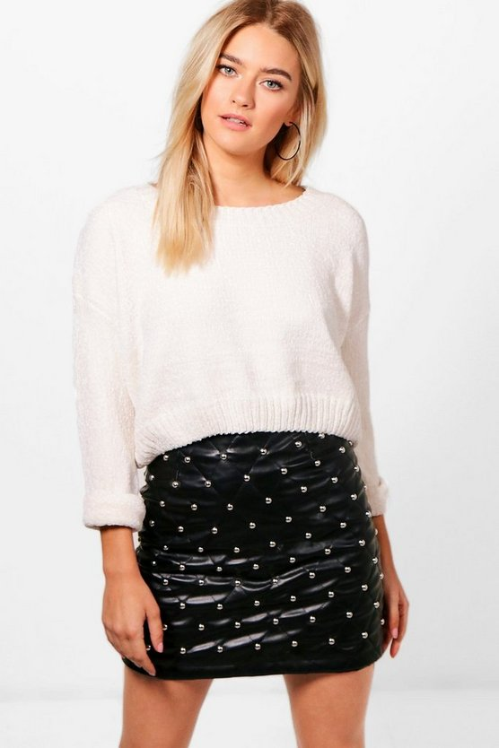 Sofia Ribbed Chenille Knit Jumper