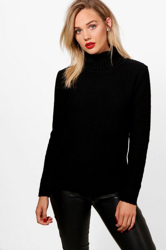 Grace Soft Knit Roll Neck Jumper